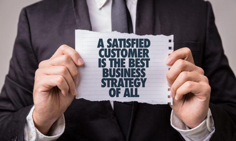 A,Satisfied,Customer,Is,The,Best,Business,Strategy,Of,All